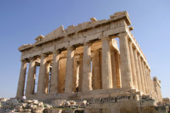 Athens  Acropolis, The Parthenon Royalty Free Stock Images