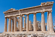 Athens Acropolis Parthenon Stock Photos
