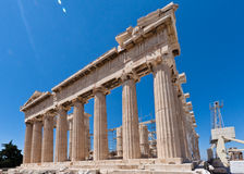 Athens Acropolis Parthenon Royalty Free Stock Photos