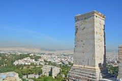 Athens and the Acropolis Stock Photos