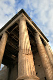 Athens akropolu szczegółów erechtheum Greece obraz royalty free