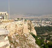 Athens and ancient Royalty Free Stock Photos