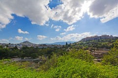 Athens antiquities Royalty Free Stock Photos