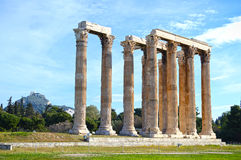 Athens antiquities Royalty Free Stock Image