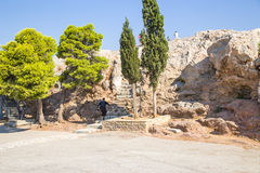 Athens. The Areopagus Stock Photography