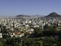 Athens. The beautiful greek capital athens Stock Images
