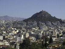 Athens. The beautiful greek capital athens Royalty Free Stock Image