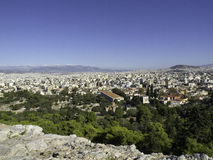 Athens. The beautiful greek capital athens Royalty Free Stock Photography