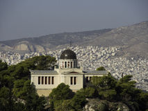 Athens. The beautiful greek capital athens Royalty Free Stock Photo