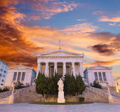Athens - The building of National and Kapodistrian University of Athens Stock Photography