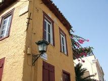 athens byggnad gammala greece Arkivfoto