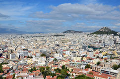 Athens capital city of greece landscape. Athens capital city of greece Royalty Free Stock Image