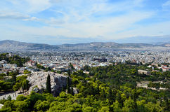 Athens capital city of greece landscape photo. Athens capital city of greece landscape Royalty Free Stock Image
