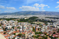 Athens capital city of greece landscape photo. Athens capital city of greece landscape Stock Photo