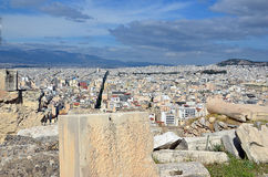 Athens capital city of greece landscape photo. Athens capital city of greece landscape Royalty Free Stock Images