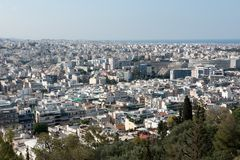 Athens capital of greece. Europe Royalty Free Stock Photo
