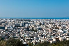 Athens capital of greece europe. Centre pireo Stock Photography