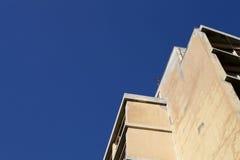 Athens city building. Concrete against the blue sky Stock Images