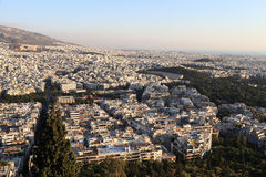 Athens city general view Stock Photo