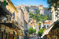 Athens city, Greece Royalty Free Stock Photos