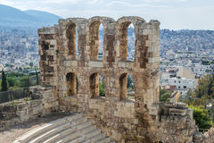 Athens city in Greece Royalty Free Stock Photography