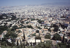 Athens city view Royalty Free Stock Photography