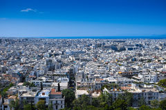Athens city view Royalty Free Stock Photo