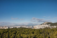 Athens cityscape Stock Photography