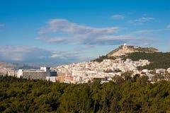 Athens cityscape Royalty Free Stock Photos