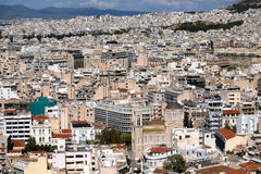 Athens Cityscape Royalty Free Stock Photography