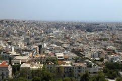 athens cityscape greece Arkivbilder