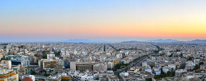 Athens cityscape Royalty Free Stock Photo