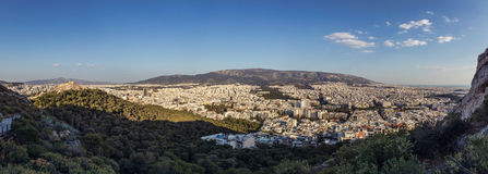Athens cityscape Royalty Free Stock Photos
