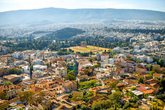 Athens cityscape view Stock Photo