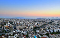 Athens cityscape Royalty Free Stock Image