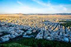 Athens cityscape view Stock Photography