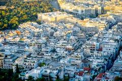 Athens cityscape view Stock Photos