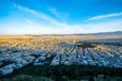 Athens cityscape view Royalty Free Stock Photo