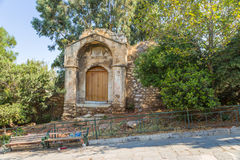 Athens. Doorway of the Medrese Stock Photography
