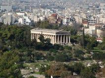 athens fördärvar Arkivfoton