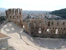 athens fördärvar Arkivfoto