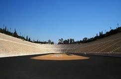athens först modern olympic stadion Royaltyfria Foton