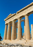 Athens famous Acropolis Royalty Free Stock Photography