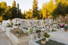 Athens graveyard Stock Photo