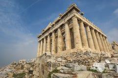 ATHENS/GREECE-帕台农神庙 库存照片