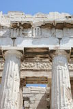 Athens - greece. Parthenon at acropolis in greece Royalty Free Stock Images