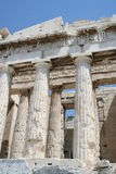 Athens - greece. Parthenon at acropolis in greece Royalty Free Stock Image