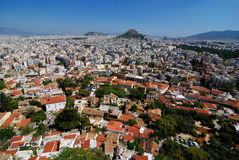 athens greece Royaltyfri Bild