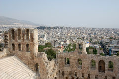 athens greece Royaltyfri Fotografi