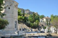 Athens Greece Acropolis travel destination tourism Royalty Free Stock Photos